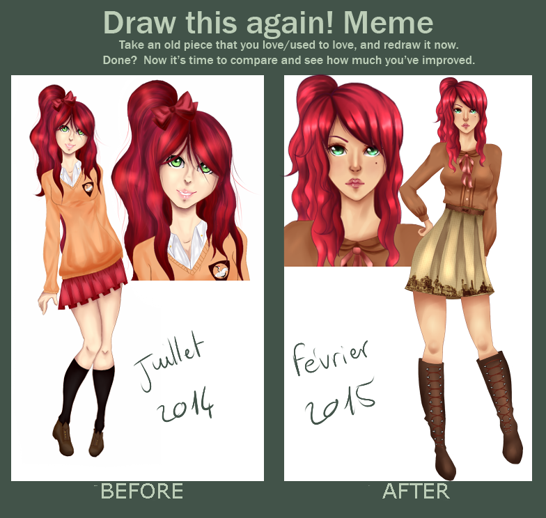 Draw This Again ~ Kim by Kimkim-A