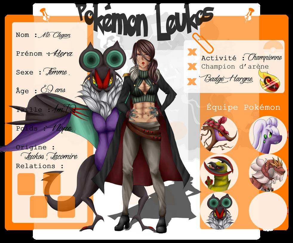 [Leukos] Championne de Lacomire Kiera McClegan by Kimkim-A