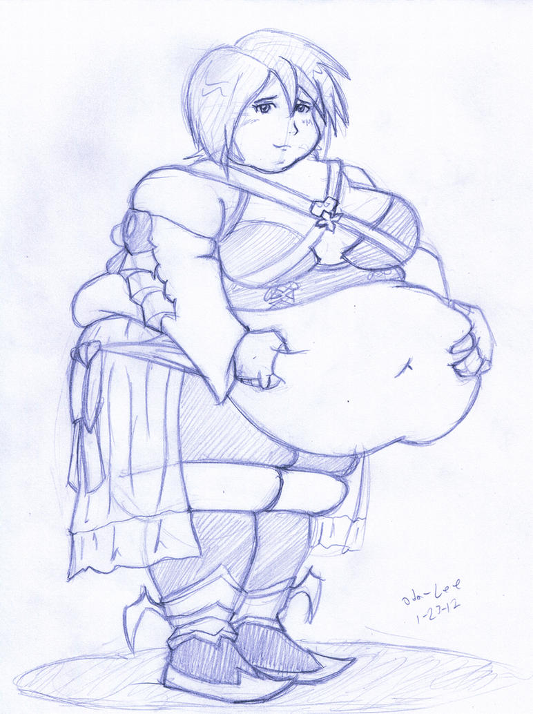 Fatty fat Aqua by Oda-Lee
