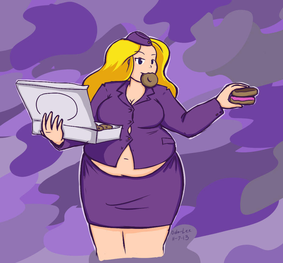 Request 20 Nell in Advance Wars: Wold War Donuts by Oda-Lee