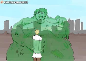 filler art 15: massive goo blob Ava by Oda-Lee
