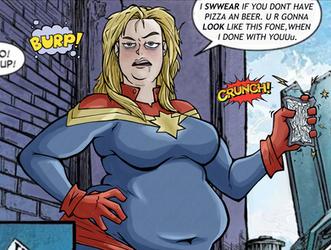 Redraw Captain Marvel