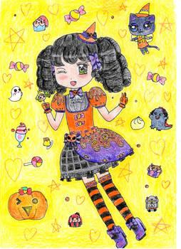 Garuru Pripara Halloween