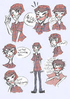 Nathaniel's Notebook: Robin Reference by Chiming-Ribbon