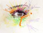 Watercolour eye 2
