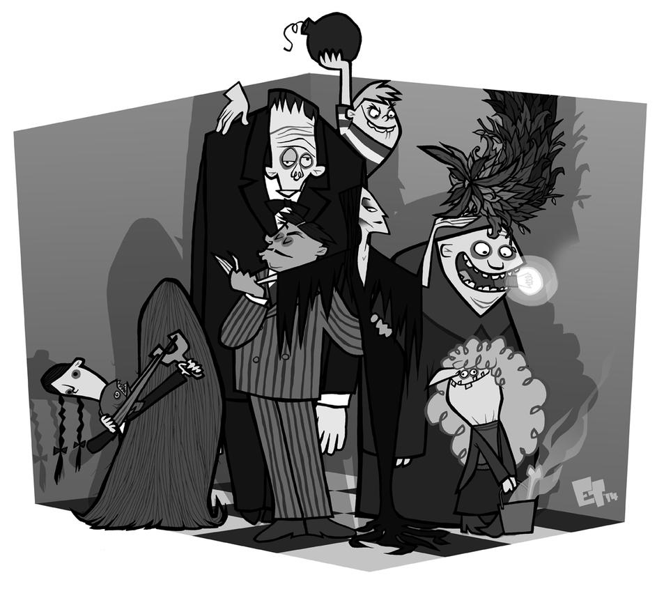 The Addams Family by edgar1975