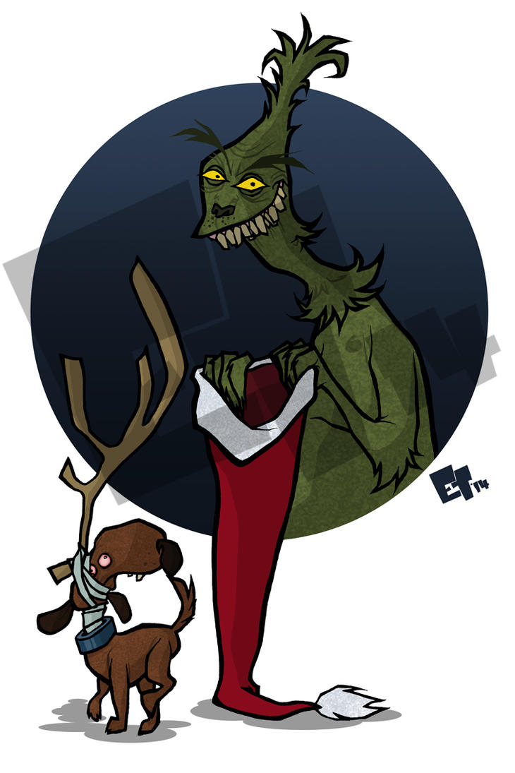 Mr Grinch and Max by edgar1975