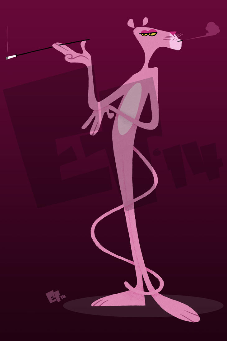 The Pink Panther by edgar1975