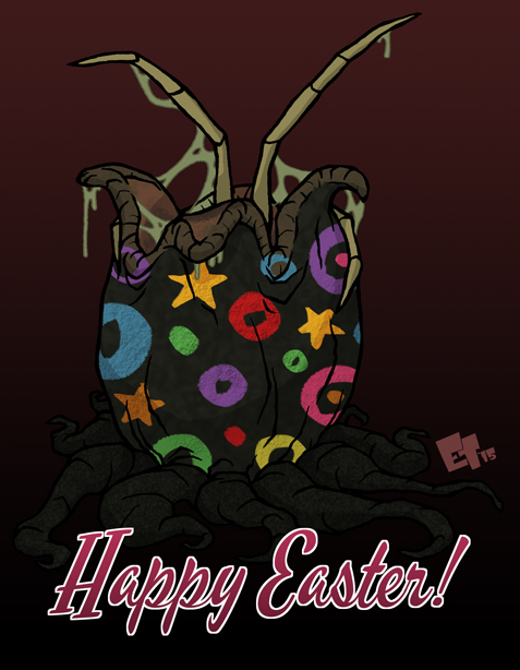 Happy Easter 2015 by edgar1975