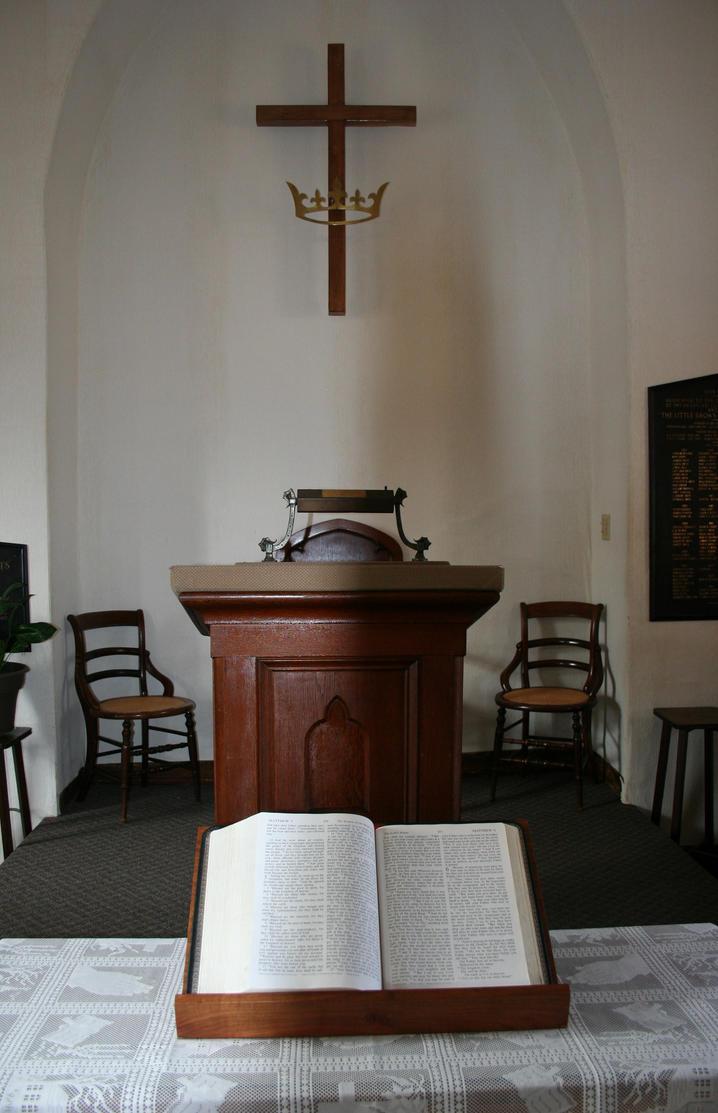 Inside Church by JewelsStock