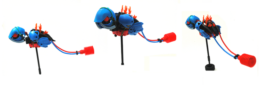 Bionicle MOC - Rattle Fish by mr-shazam