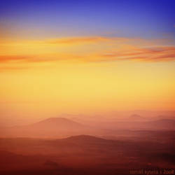 sunset square I by kihsleek