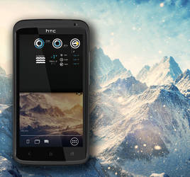 HTC One X Mountains