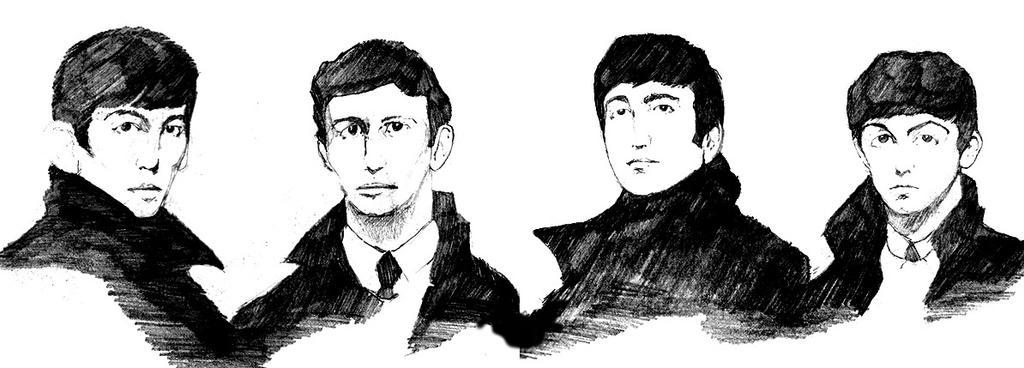 Beatles by GreenBearBrummbar