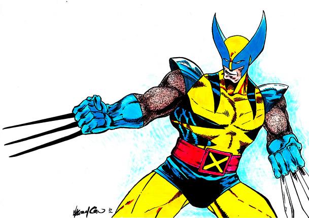 Wolverine Marvel by GreenBearBrummbar