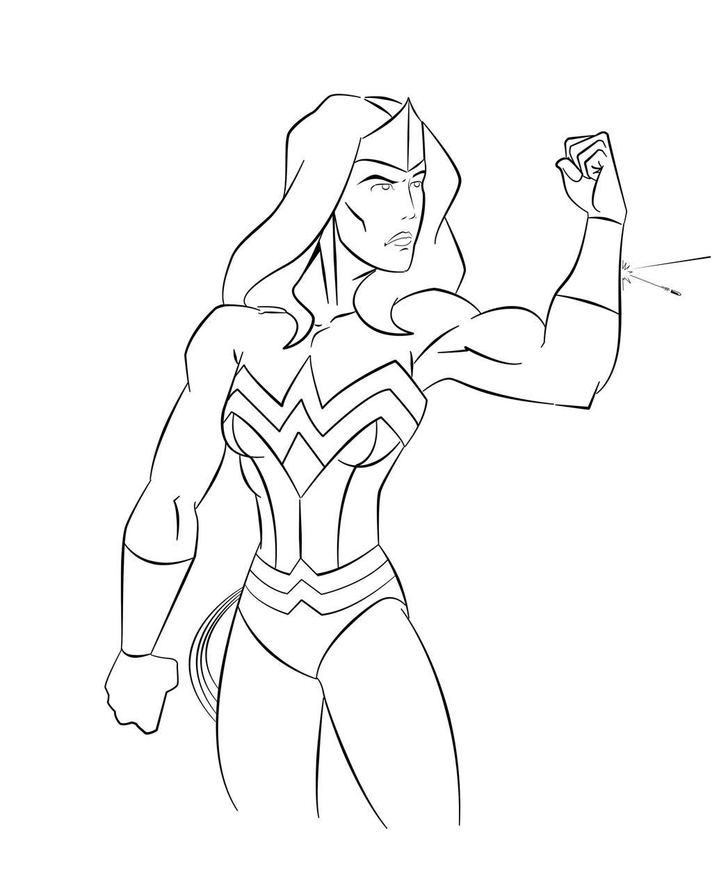 Wonder Woman by GreenBearBrummbar