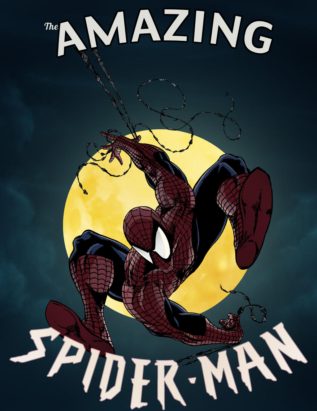 Spider-man by GreenBearBrummbar