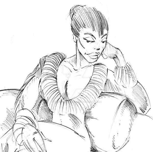 Woman by GreenBearBrummbar