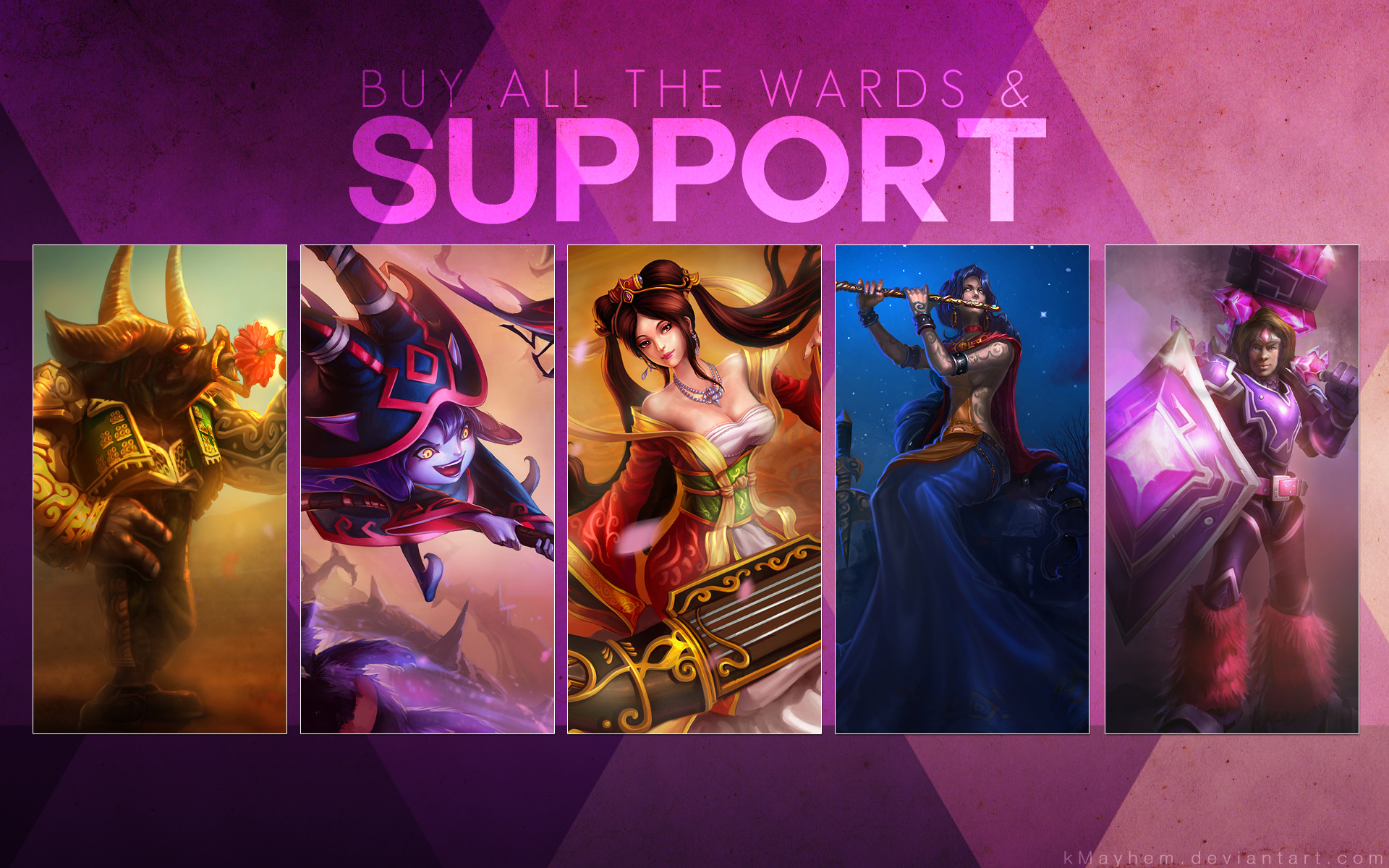 Buy All the Wards by kMayhem