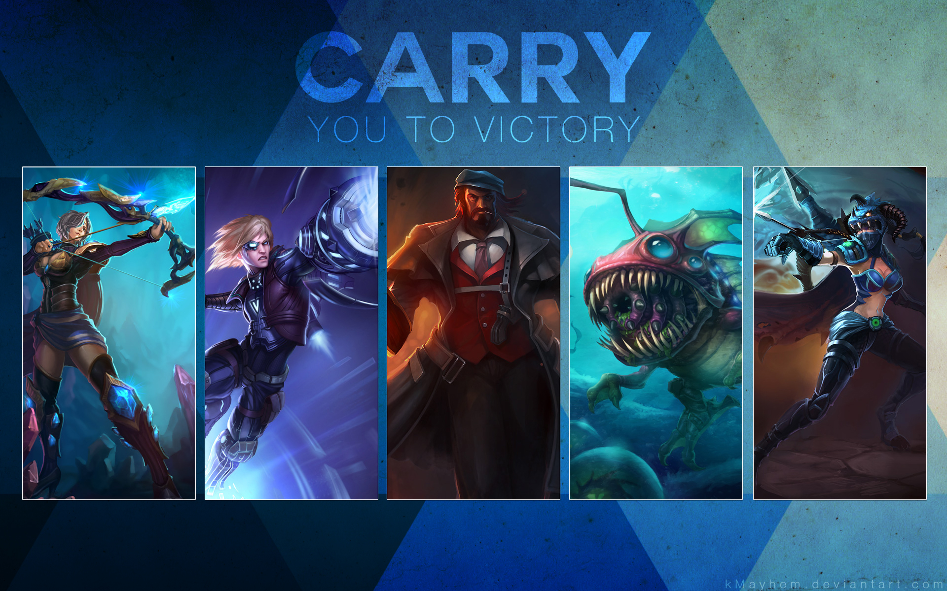 Carry You to Victory by kMayhem