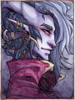 Mollymauk by RBIllustration