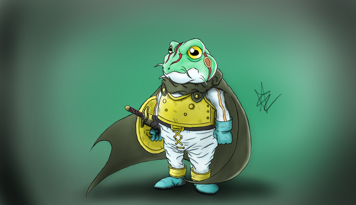 Frog from Chrono Trigger by xEclypze