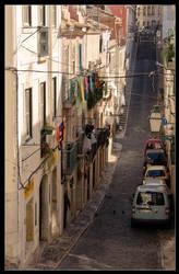 Lisbon street by h3-r3