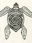Spiralling Turtle by binking-in-dread