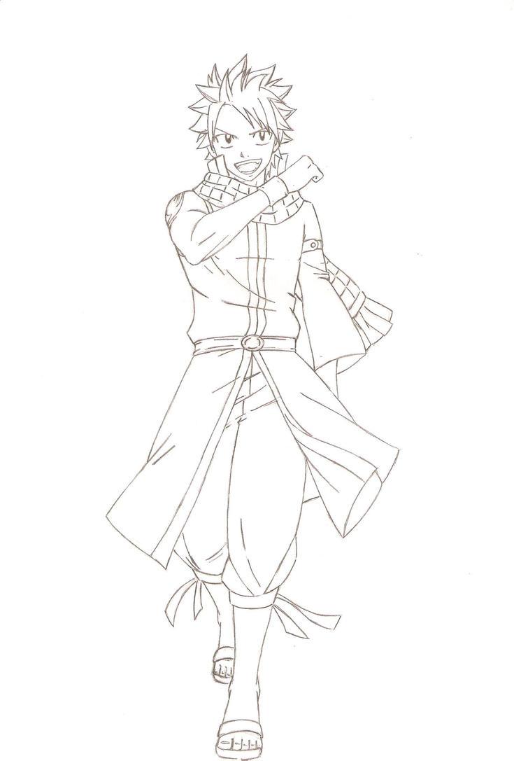 natsu from an artwork by FairyTail0079 on DeviantArt
