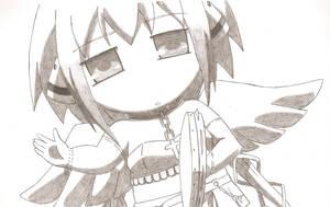 Sora no Otoshimono - Ikaros chibi by FairyTail0079