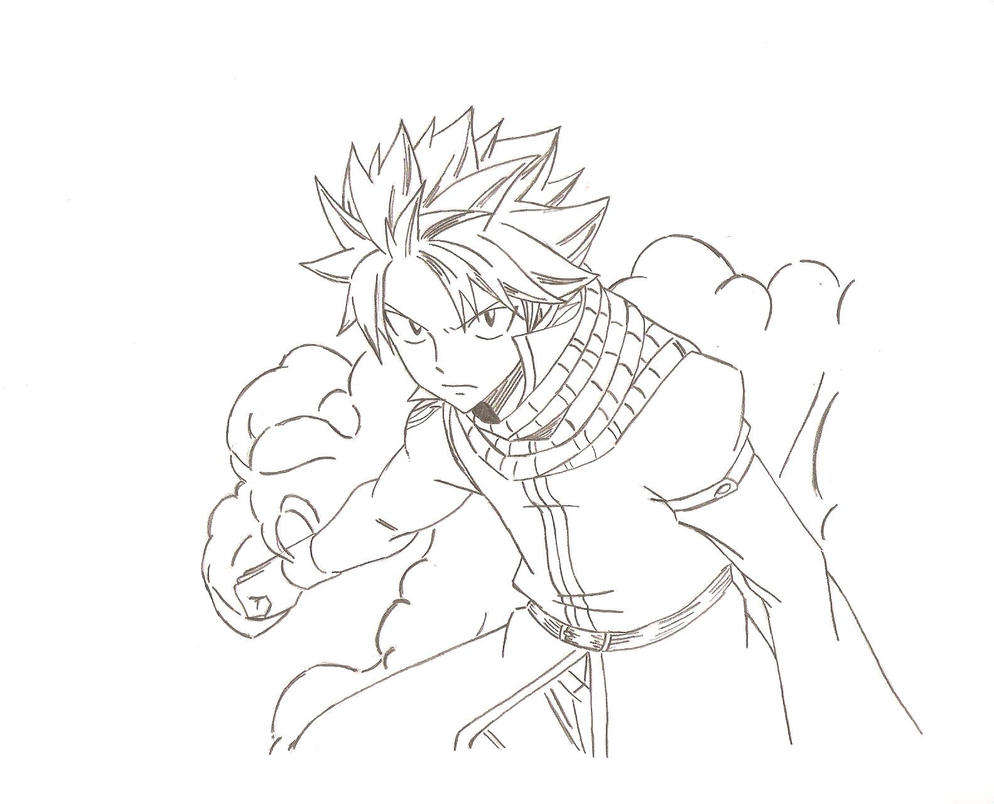 Fairy Tail - Natsu in the grand magic games by FairyTail0079