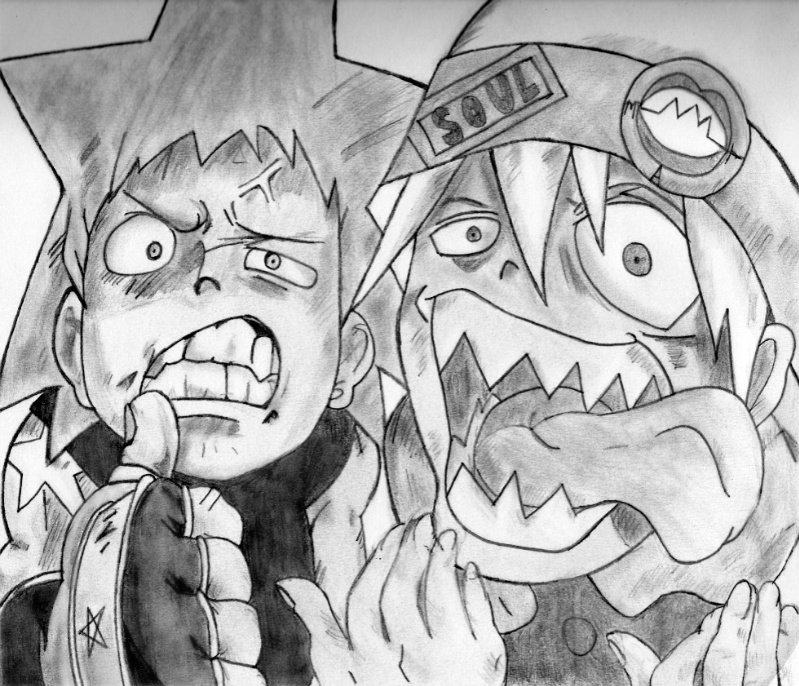 Soul Eater: Blackstar and Soul by jayyx3