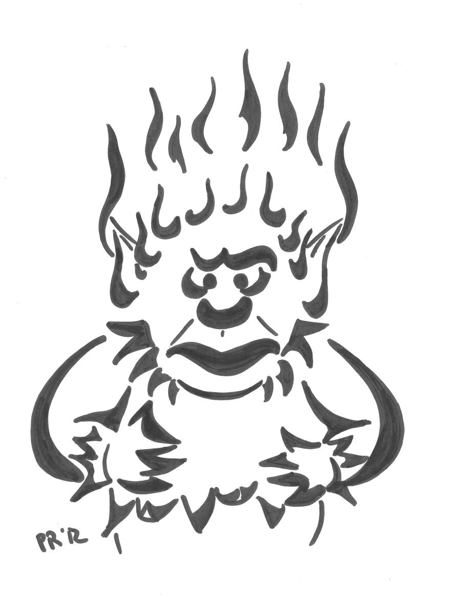 Heat Miser Coloring Book Coloring Pages