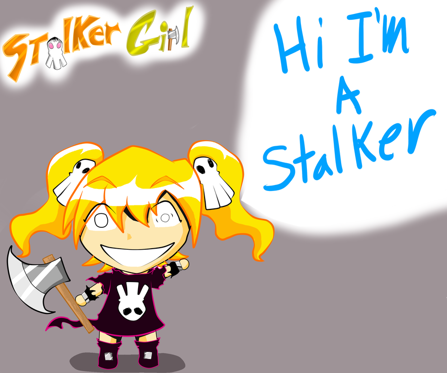 Chibi Stalker-Girl by NeoEdensKing