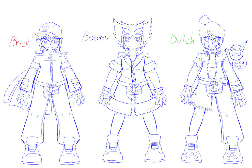 Draft Idea Of The RRBD Boys Clothing Get Up By NeoEdensKing