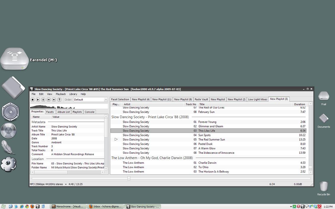 Jarsonic Desktop, 2009.07.04 by jarsonic