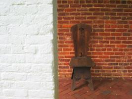 brick and chair by jarsonic