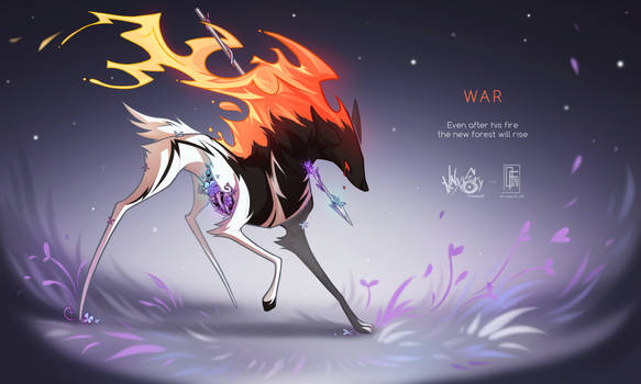 [CLOSED] Adopt auction - WAR |COLLAB|