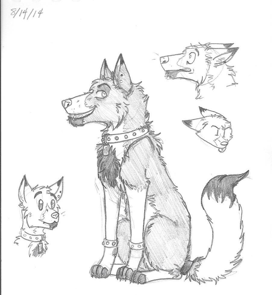Evan Sketches by Lykaios-Garou