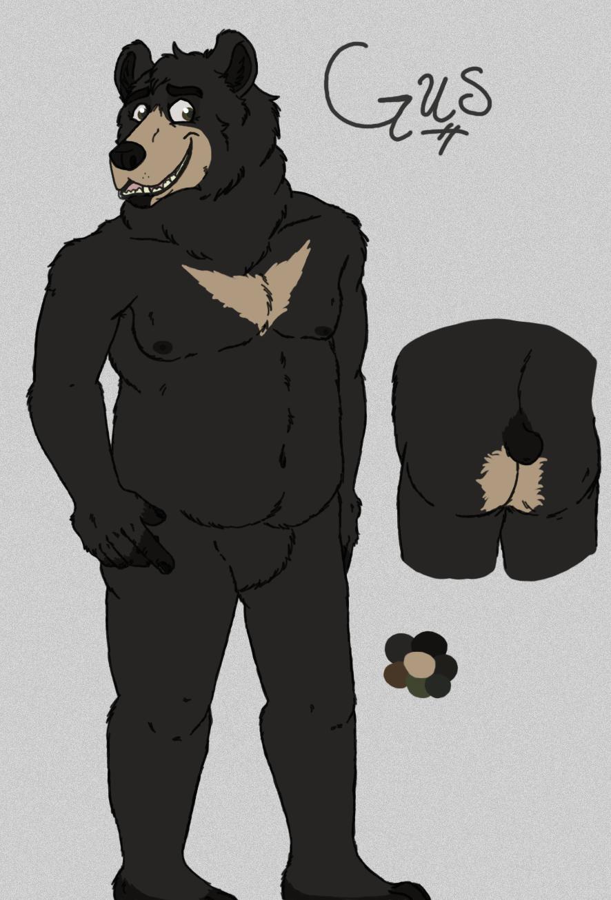 Gus the Bear by Lykaios-Garou