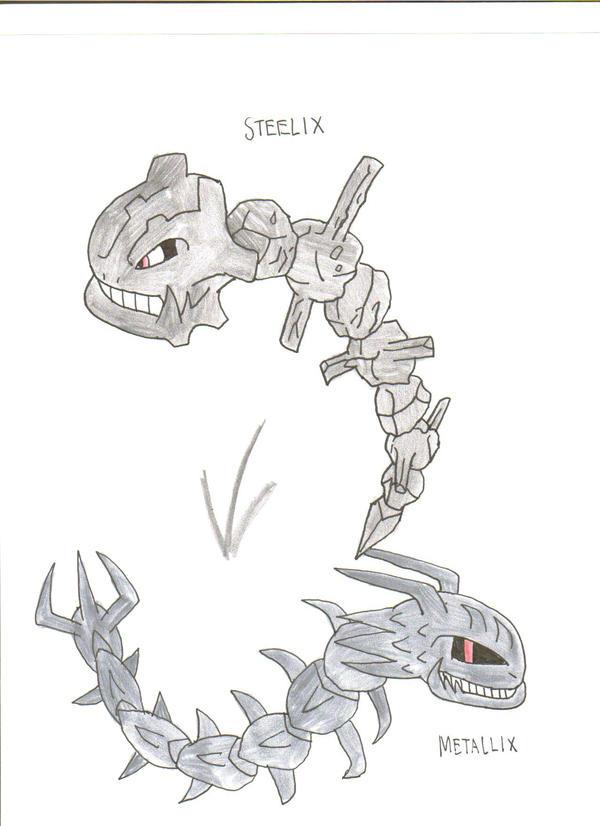Pokemon Steelix Evolution Pokemon Steelix Evolut...