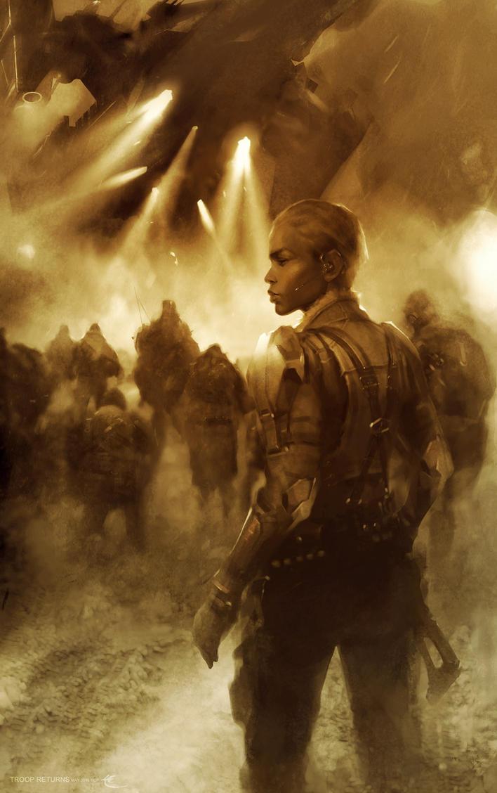 Troop Returns by Lorenzo-Lee