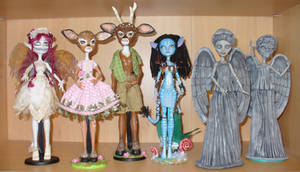 Monster High repaint OOAK customs