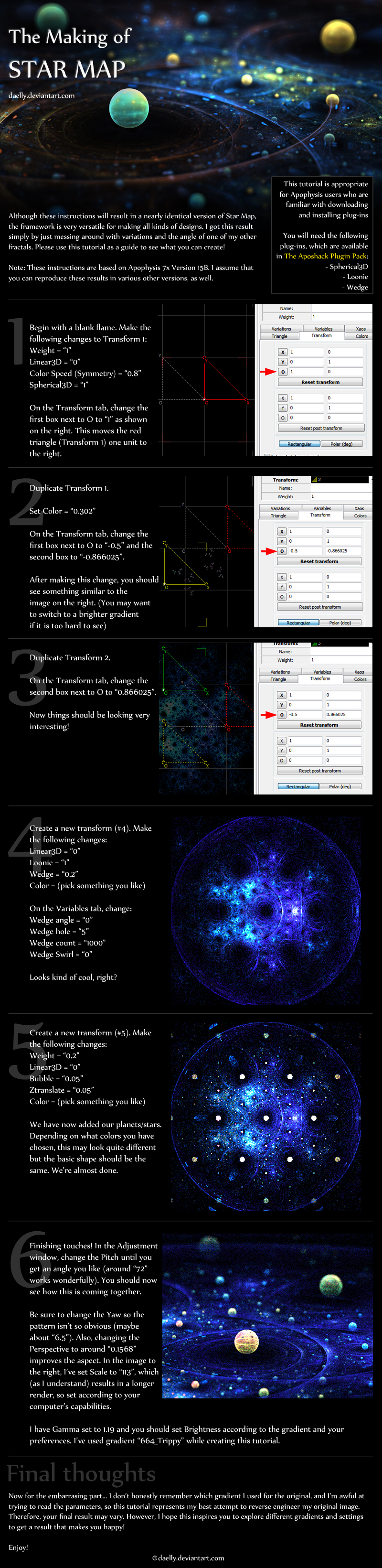 Apo Tutorial: Star Map by daelly