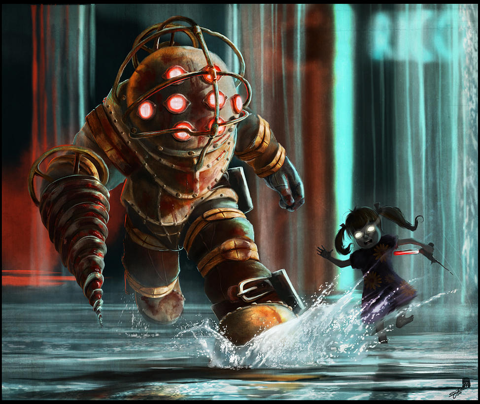 BioShock by AndyFairhurst