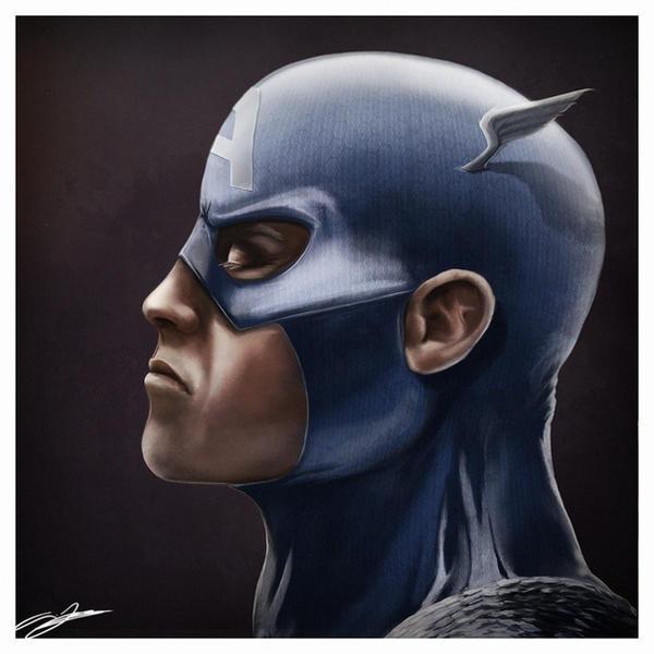 Captain America by AndyFairhurst