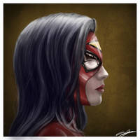Spider-Woman by AndyFairhurst