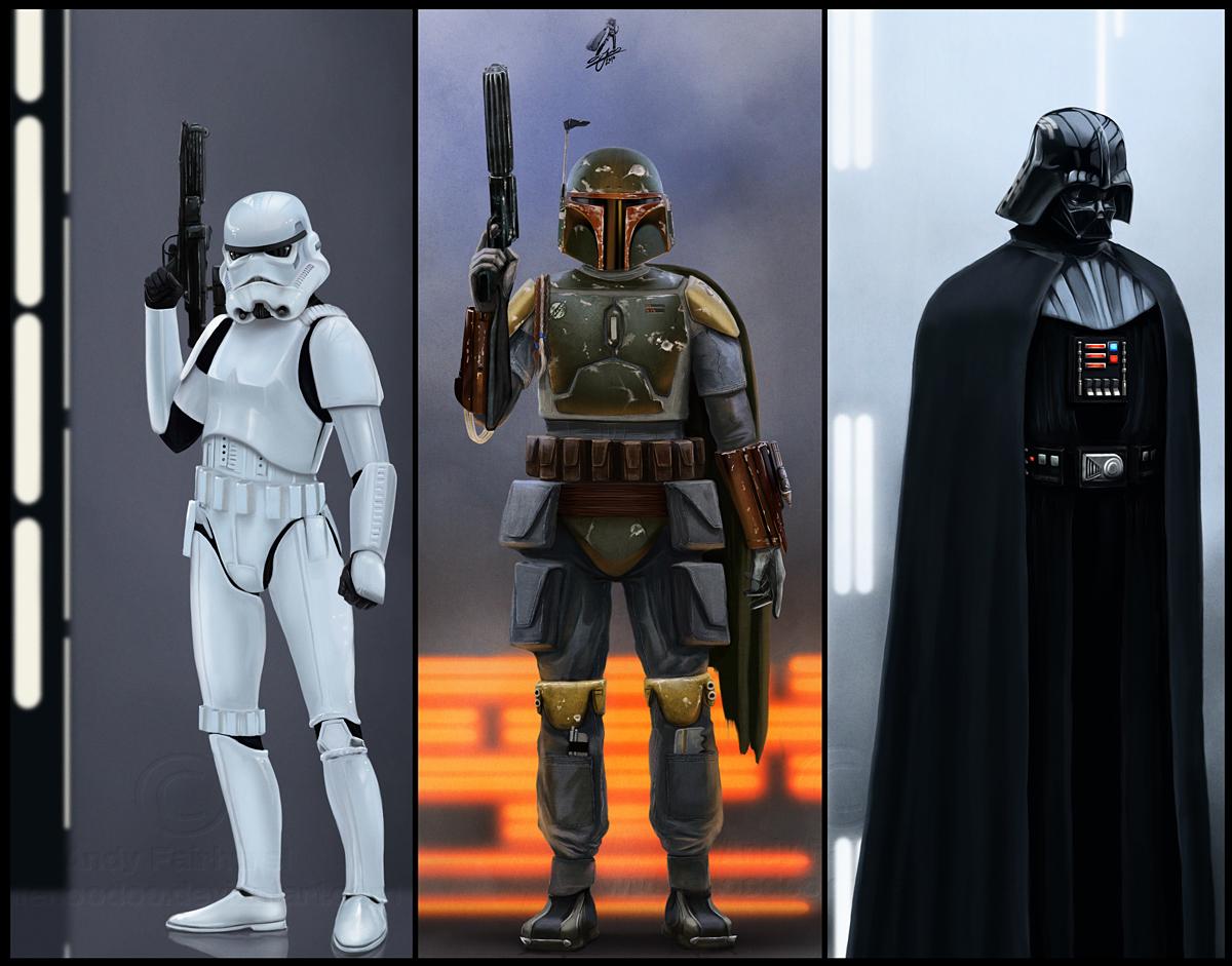 Star Wars by AndyFairhurst