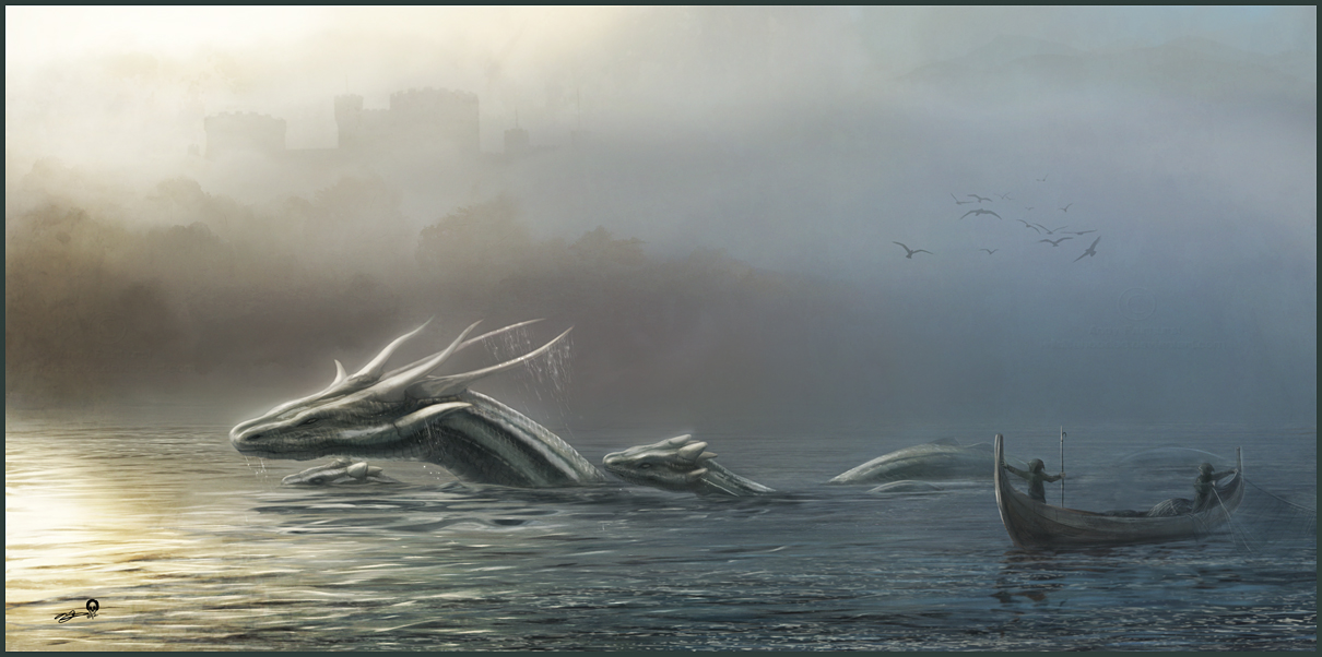 Estuary Dragons by AndyFairhurst