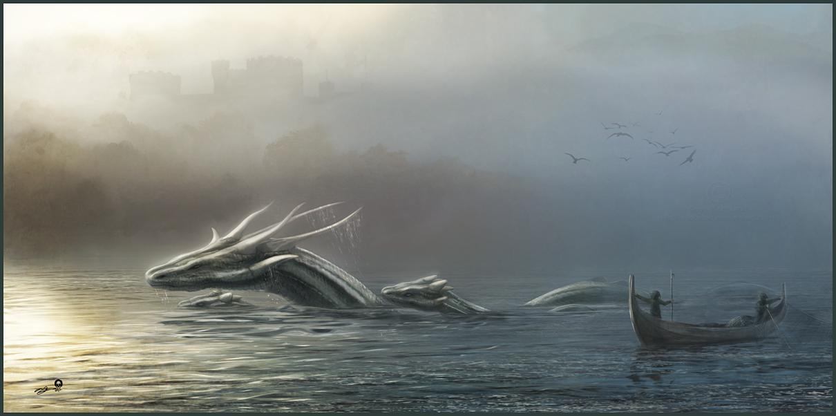 Estuary Dragons by AndyFairhurst